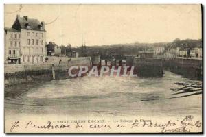 Old Postcard Saint Valery en Caux The Locks Hunting