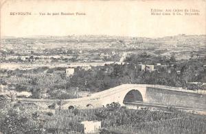 Lebanon Beyrout Beirut Vue du pont Roustom Pacha