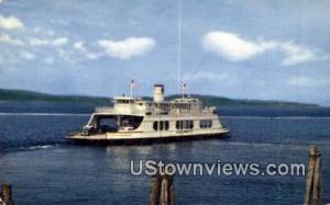 MV Adirondack, Ferry Crossing