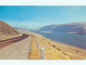Pre-1980 RIVER SCENE Vantage - Near Ellensburg & Yakima Washington WA AE5987