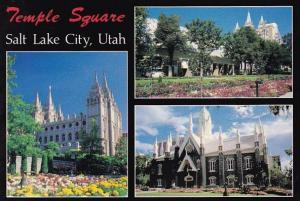Utah Salt Lake City Temple Square The Church Of Jesus Christ Of Latter Day Sa...
