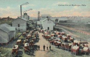 MUSKOGEE , Oklahoma , 1911 ;  Cotton Gin
