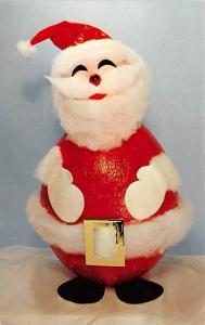 Santa Claus Post Card Old Antique Vintage Christmas Postcard Unused