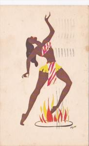 Bahama Islands Beautiful Fire Dancer 1967