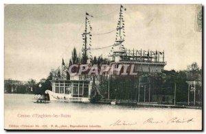 Old Postcard Casino d & # 39Enghien les Bains