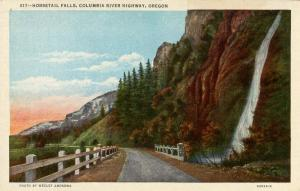OR - Columbia River Highway. Horsetail Falls