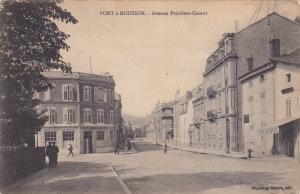 Pont-à-Mousson , France , 1919 : Avenue President-Carnot