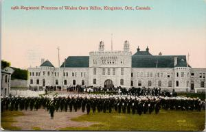 14th Regiment Princess of Wales Own Rifles Kingston Ontario ON Postcard F10