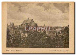 Postcard Modern Teilansicht von Braunschweig
