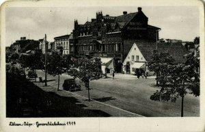 poland germany, GIŻYCKO LÖTZEN, Masuren, Generalstabshaus (1930s) Postcard