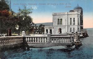 Venezuela Puerto Cabello, Entrada del puerto y Hotel d elos Banos