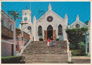 Bermuda St Georges Ancient St Peter's Church