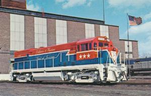 Delaware & Hudson 1776 Locomotive - Bicentennial Colors - Colonie NY, New York