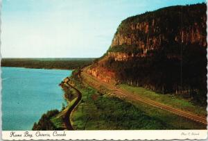 Kama Bay Ontario ON Circle Route Unused Vintage Postcard D56