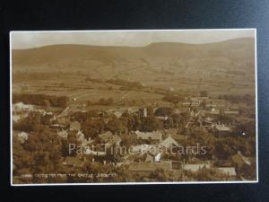 Derbyshire: Castleton from the Castle RP c1932 Pub by Judges