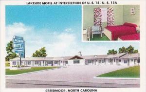 North Carolina Creedmoor Lakeside Motel
