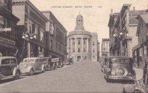 BATH , Maine , PU-1948 ; Center Street
