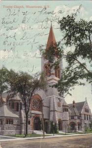 Exterior, Trinity Church, Watertown,  New York,  PU-1909