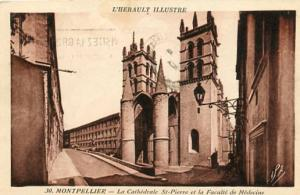 France - Montpellier. St. Pierre Cathedral & Medical Facility