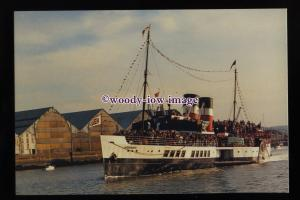 SIM0298 - Paddle Steamer - Waverley , built 1947 - postcard