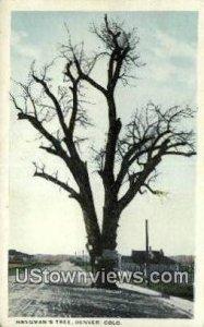Hangman's Tree - Denver, Colorado CO