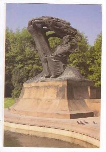 Monument of Frederic Choplin,Krakow,Poland PU 1996