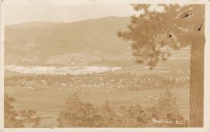 RP, Bird´s-eye View of Penticton, British Columbia, Canada, PU-1929