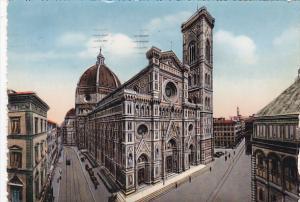 Italy Firenze La Cattedrale e il Campanile di Giotto 1955
