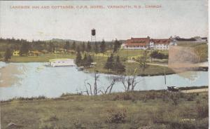 YARMOUTH, Nova Scotia, Canada, 1900-1910's; Lakeside Inn And Cottages, C.P.R....