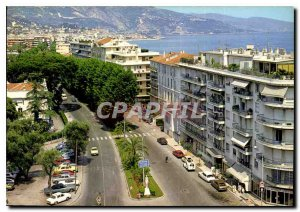 Modern Postcard Images & Lights of France Menton Alpes Maritimes Roquebrune W...