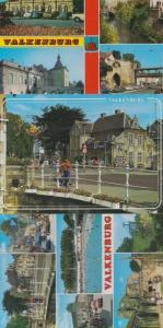 Valkenburg 3x Rare Postcard s