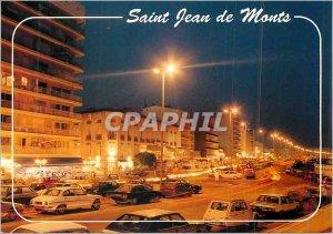 Modern Postcard Saint Jean de Monts Esplanade Sea