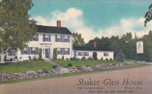 Massachusetts Woburn Shaker Glen House