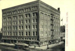 Webster Sunderland Building Omaha NE Writing On Back