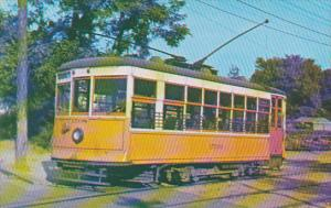 Trolley Virginia Electric & Power Company Single Truck Birney Car No 1508