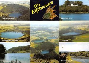 Die Eifelmaare multiviews Pulvermaar Weinfelder Maar Holzmaar Schalkenmehrener