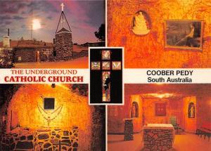 Australia The Underground Catholic Church Coober Fedy, Full Moon The Sanctuary