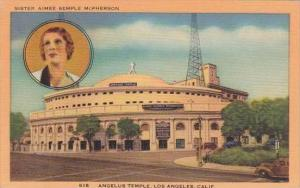 California Los Angeles Angelus Temple