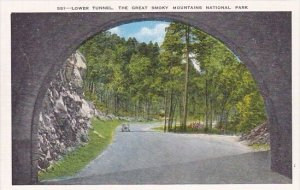 Lower Tunnel The Great Smoky Mountain National Park Tennessee