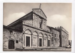 FIRENZE, CHIESA DI S. MINIATO E PALAZZO DEI VESCOVI, unused Postcard