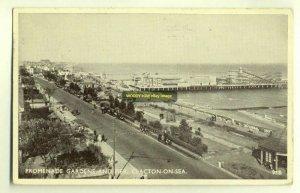 tp2761 - Promenade Gardens & Pier , Clacton-on-Sea , Essex - postcard