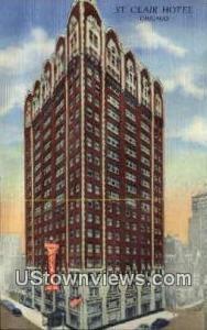St. Clair Hotel Chicago IL Unused