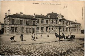 CPA FRESNES La Mairie les Ecoles et la Poste (600039)