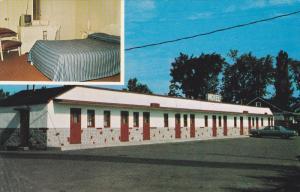 2-Views, Motel Ideal, Cite Laval, Quebec, Canada, 1940-960s