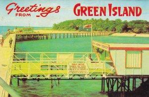 Green Island Barrier Reef 10x Australia Postcard Folding Book
