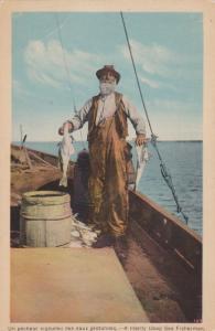 A Hardy Deep Sea Fisherman, 1930s