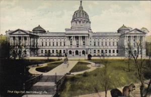 State Capitol Building Harrisburg Pennsylvania 1911
