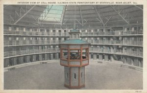 JOLIET , Illinois, 1900-10s ; Cell House , State Prison