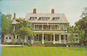 Georgia Jekyll Island Museum Former Rockefeller Cottage 1973