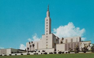 LOS ANGELES, California, 1950-1960's; Mormon Temple
